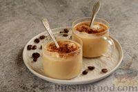 Фото приготовления рецепта: Бананово-кофейный смузи с творожно-кокосовыми шариками - шаг №6