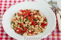 Салат из печеного сладкого перца, помидоров и огурцов - рецепт пошаговый с фото