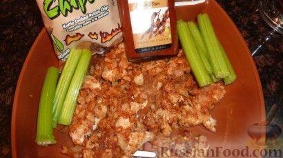 Рецепт Аппетитная курочка с острым соусом
