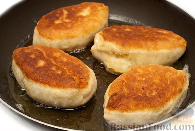 пирожки с рисом и яйцом жареные рецепты с фото