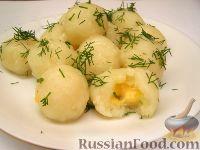 Клецки картофельные рецепт с фото пошагово