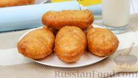 Фото к рецепту: Жареные пирожки с картошкой