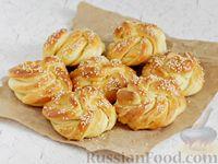 Фото к рецепту: Турецкие хлебные булочки с сезамом