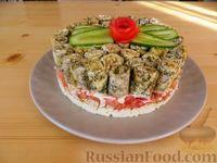 Фото к рецепту: Салат-торт