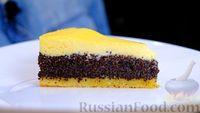 Фото к рецепту: Маковый пирог «Три слоя»