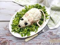 Фото к рецепту: Мясной салат