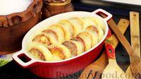 Фото к рецепту: Сырники под нежным сметанным соусом