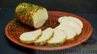 Яичный сыр с зеленью в домашних условиях - рецепт пошаговый с фото