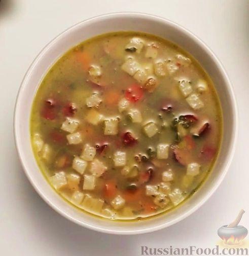 Рецепт Гороховый суп (в мультиварке)