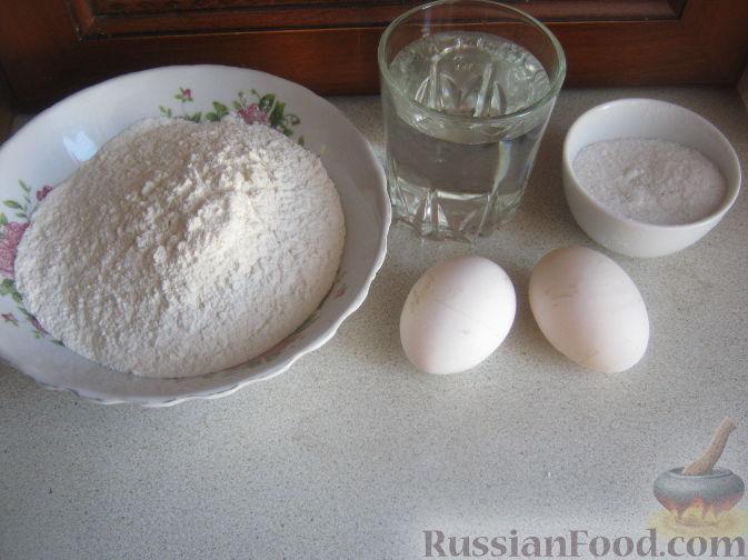 Как сделать из муки тесто для пельменей 710