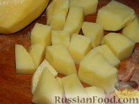 Фото приготовления рецепта: Томатный суп с рисом - шаг №3