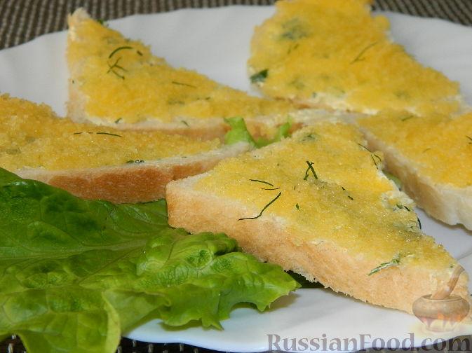 Рецепт Бутерброды с икрой мойвы