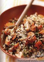 Фото к рецепту: Рис с овощами, приготовленный в медленноварке