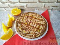Фото к рецепту: Торт-безе из крекеров с грецкими орехами