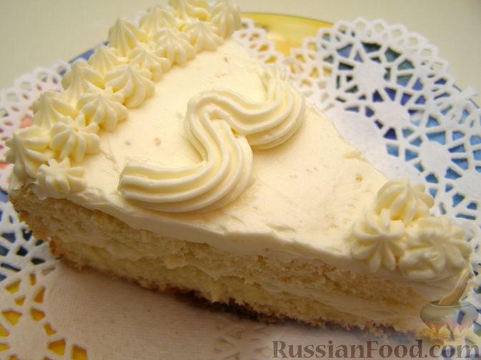 Сливочный крем для украшения торта рецепт