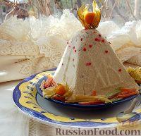 Фото к рецепту: Творожная сливочная пасха
