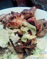 Фото к рецепту: Куриный шашлычок на сковороде