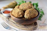 Фото к рецепту: Котлеты из скумбрии с рисом