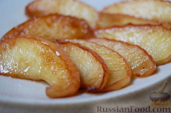 Блюда из яблок на сковороде