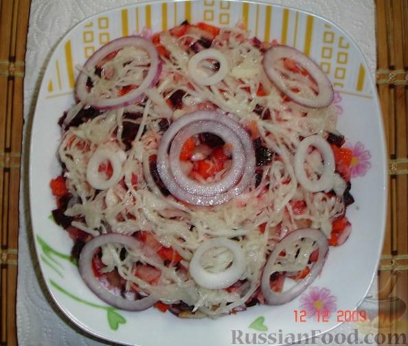 Рецепт Винегрет с квашеной капустой