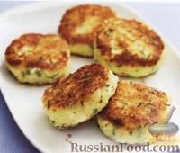 Фото к рецепту: Картофельники с сыром
