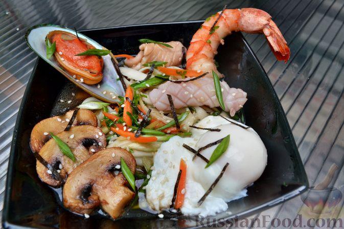 Рецепт Азиатский суп с лапшой удон