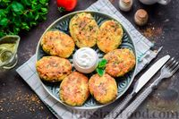 Фото к рецепту: Котлеты из консервированной сардины и кускуса