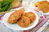 Фото к рецепту: Котлеты из кильки в томате и риса