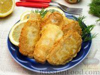 Фото к рецепту: Жареная рыба в кляре на кефире