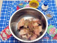 Фото приготовления рецепта: Жареная рыба в кляре на кефире - шаг №3