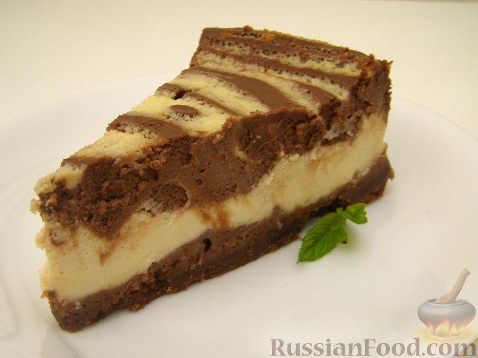 Рецепт Американский чизкейк (творожный пирог)