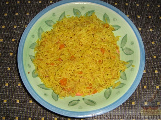рецепт риса с соусом карри