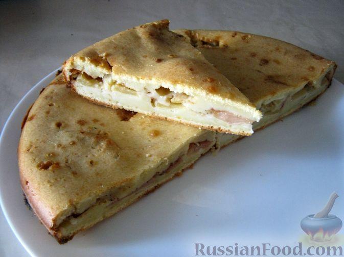 Тесто для пирога с яблоками с молоком рецепт пошагово 54
