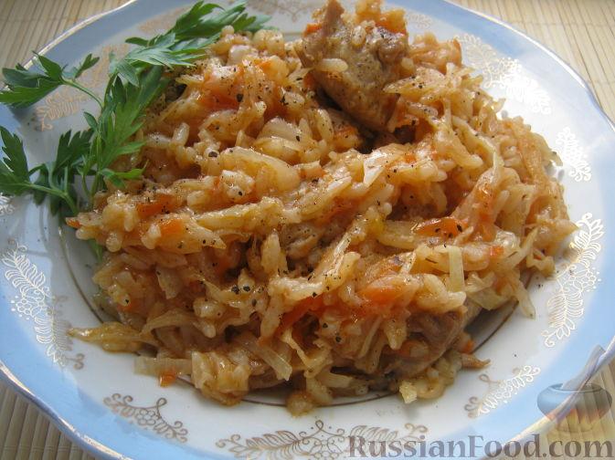 Голубцы ленивые с рисом рецепт