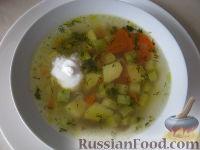 Суп пшенный вегетарианский