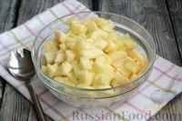 Фото приготовления рецепта: Фруктовый салат с заправкой из авокадо и йогурта - шаг №6