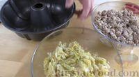Фото приготовления рецепта: Пирог из лаваша с начинкой из мясного фарша и капусты - шаг №7