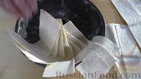 Фото приготовления рецепта: Пирог из лаваша с начинкой из мясного фарша и капусты - шаг №10