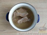 Фото приготовления рецепта: Крокеты из говядины с сыром и цедрой лимона - шаг №3