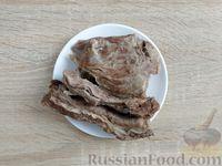 Фото приготовления рецепта: Крокеты из говядины с сыром и цедрой лимона - шаг №4
