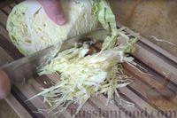 Фото приготовления рецепта: Пирог из лаваша с начинкой из мясного фарша и капусты - шаг №3