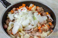 Фото приготовления рецепта: Овoщнoe paгу cо свининой - шаг №9