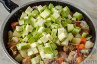 Фото приготовления рецепта: Овoщнoe paгу cо свининой - шаг №11