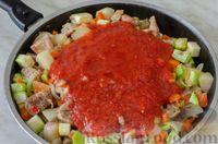 Фото приготовления рецепта: Овoщнoe paгу cо свининой - шаг №13