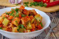 Фото приготовления рецепта: Овoщнoe paгу cо свининой - шаг №15