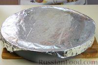 Фото приготовления рецепта: Дрожжевой пирог с мясом и картошкой - шаг №15