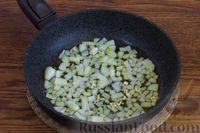 Фото приготовления рецепта: Суп с нутом, шпинатом и грибами - шаг №3