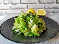 Фото к рецепту: Салат из пекинской капусты и тунца