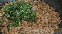 """Фото приготовления рецепта: """"Лазанья"""" из кабачков и мясного фарша, с сыром и зеленью - шаг №5"""