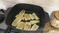 """Фото приготовления рецепта: """"Лазанья"""" из кабачков и мясного фарша, с сыром и зеленью - шаг №8"""